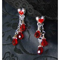 Broken Heart Earrings