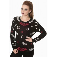 Bat Knit Jumper