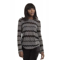 Metamorphic Black Lodge Sweater