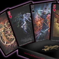 The Black Arcana Playing Cards