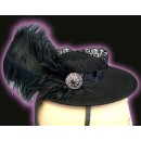 Pizazz Feather Hat